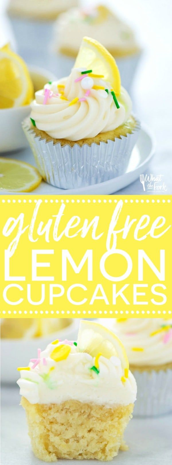 The Best Gluten Free Lemon Cupcakes and Giveaway
