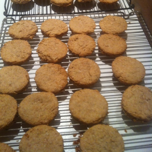 Oatcakes, home-made for Robert Burn's Day