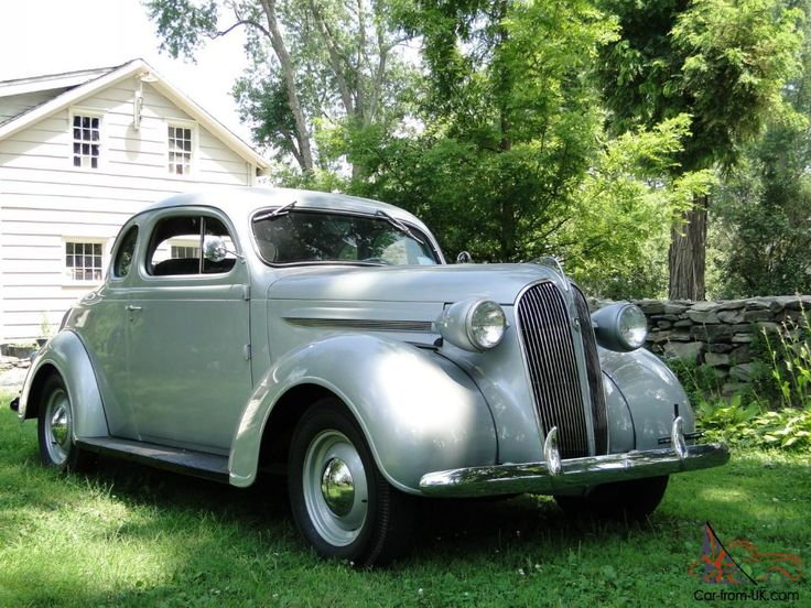 1937 Dodge Coupe Street Rod Project Car For Sale: 1937 PLYMOUTH BUSINESS COUPE/RUMBLE