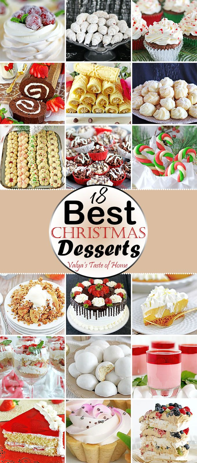 In today's post you will find a variety of different recipes pieced together to help ease your Christmas cooking and baking prep anxiety. I am a planner. My Christmas menu is planned, and shopping list is ready. I like to plan ahead the recipes I'll be making and do my grocery shopping in plenty of time ahead too.