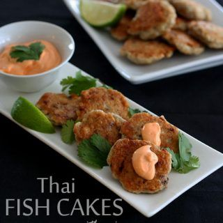 Thai Fish Cakes with Spicy Mayo – Low Carb and Gluten-Free