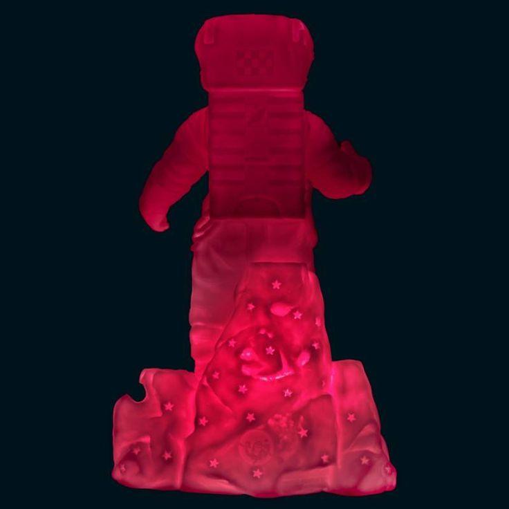 Goodnight Light Lamp 'Starman' (roze/blauw)
