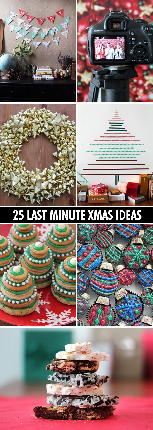 25 super easy last-minute Christmas ideas