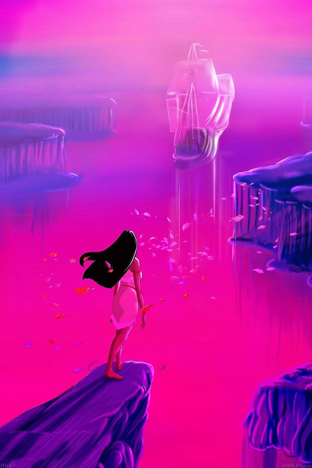 Pocahontas Find More Cute Disney Wallpapers For Your