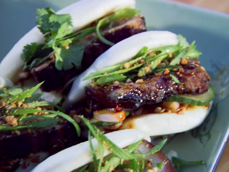 Braised Pork Belly Bao from CookingChannelTV.com