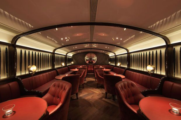 Inside Hong Kong's Sexiest Speakeasy