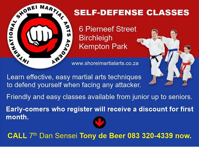 New Dimensions: Karate - Self Defense at Shorei Martial Arts Acade...