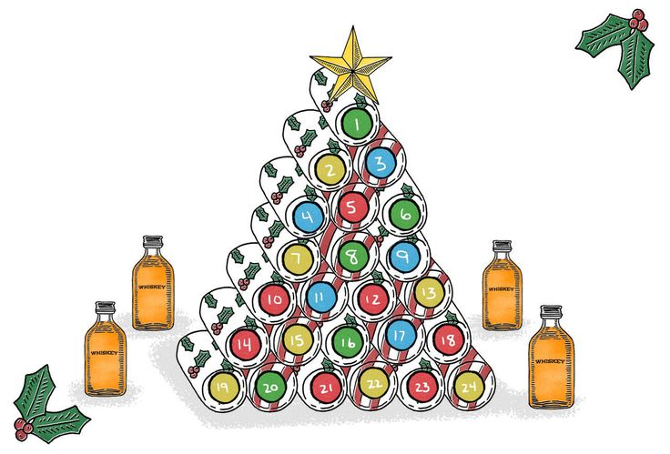 How to Make a Whiskey Advent Calendar