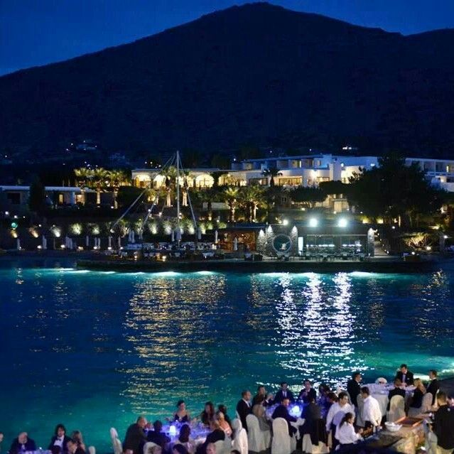 Soren Lyng Hansen Trio with Greek-Danish singer Alaska at the EAED World Congress at Elounda Bay Hotel, Crete