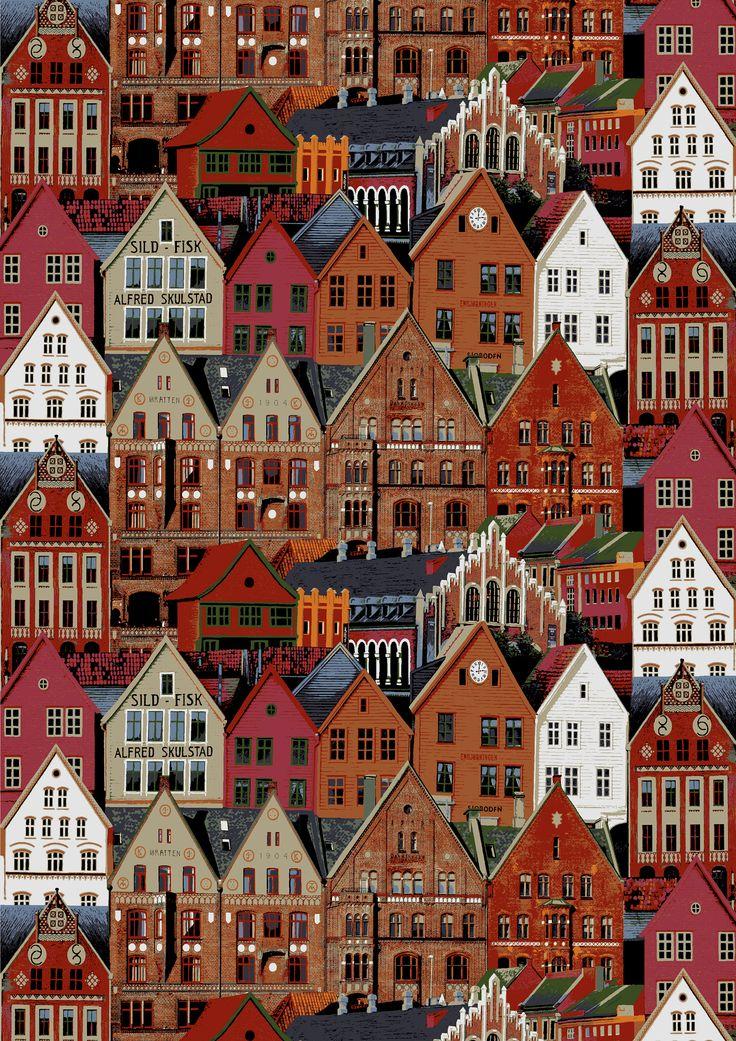 Vallila Finland, Bergen (beige) - By Matleena Issakainen