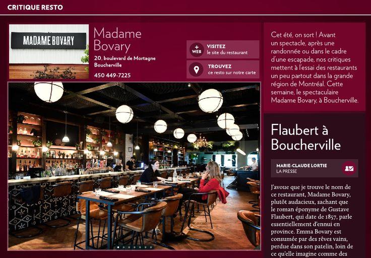 Madame Bovary: Flaubert à Boucherville - La Presse+