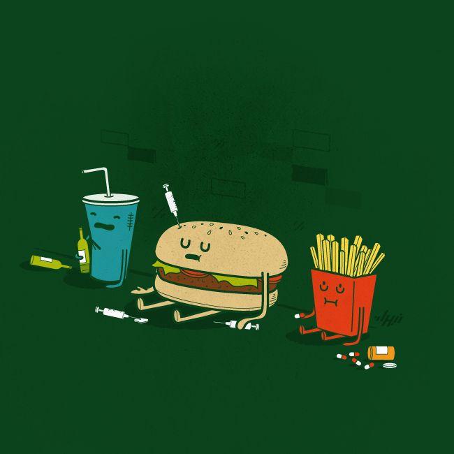 'Junk' is for junkies    Junkies by NaBHaN.deviantart.com