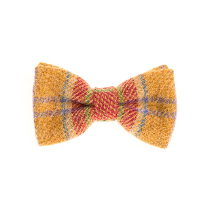 """Middling Spring"" Donegal #Tweed  #Bowtie. FREE Worldwide Shipping!"