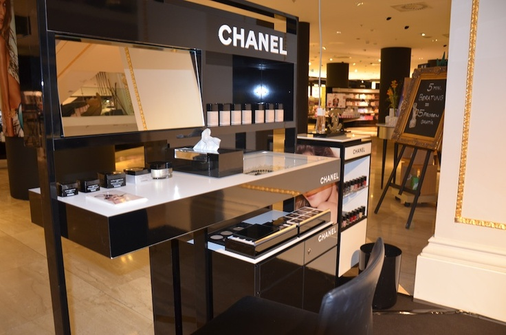 Chanel Make Up Counter