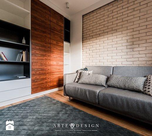 Mieszkanie w Gdańsku - Garderoba, styl nowoczesny - zdjęcie od Arte Dizain
