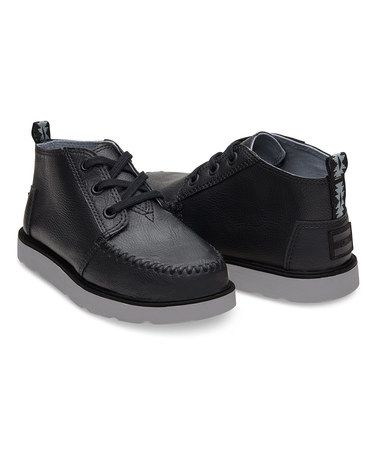 Loving this Black Chukka Boot - Youth on #zulily! #zulilyfinds