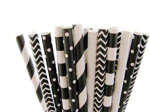 Paper straws - Papieren rietjes - Buy it at www.vanmariel.nl - 5 for € 1