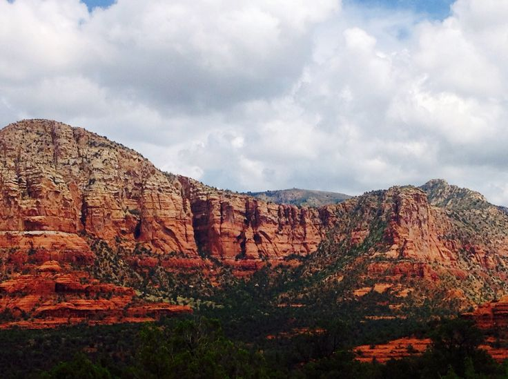 Sedona Mountainview - after the rain -