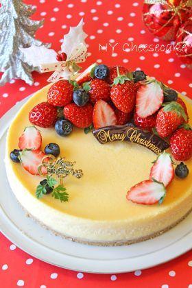 Japanese Christmas cake (Cheesecake)