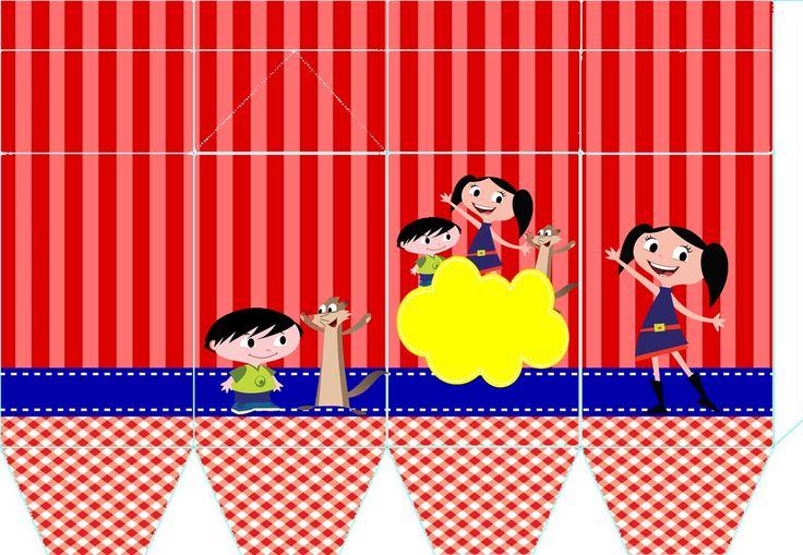 Mamãe da Malu: Éh festa! Kit festa Show da Luna