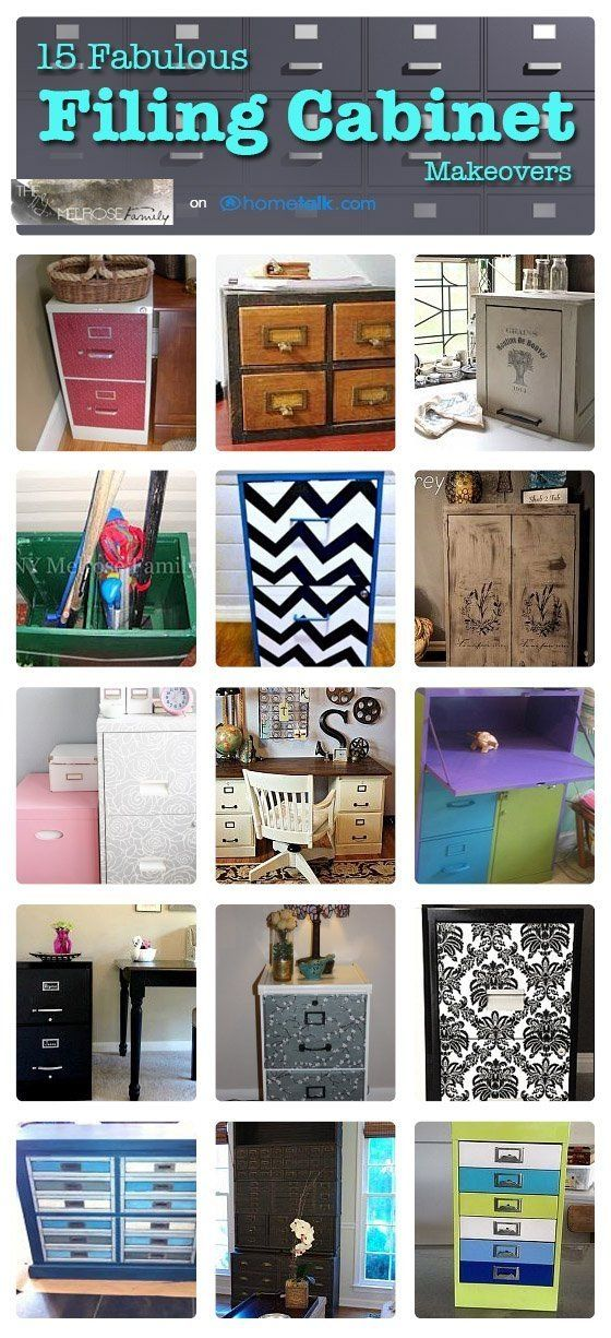 Filing Cabinet Makeovers by l!sa