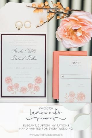 Wedding Season is here! Join me for a FREE course in all the invitation basics - from printing to paper to colors to etiquette. Sign up today! – Invited by LamaWorks