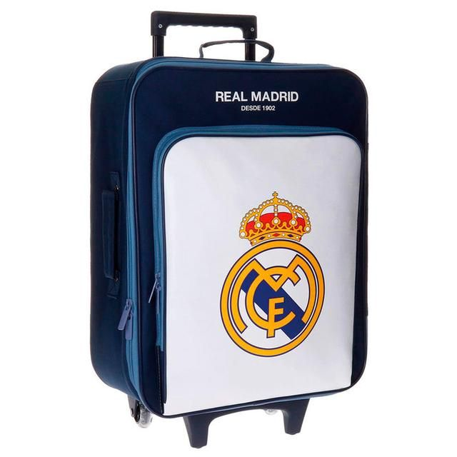 Trending in my store today⚡️ Maleta trolley Real Madrid Magnun 52cm,1uds http://www.latendeta.es/products/maleta-trolley-real-madrid-magnun-52cm?utm_campaign=crowdfire&utm_content=crowdfire&utm_medium=social&utm_source=pinterest