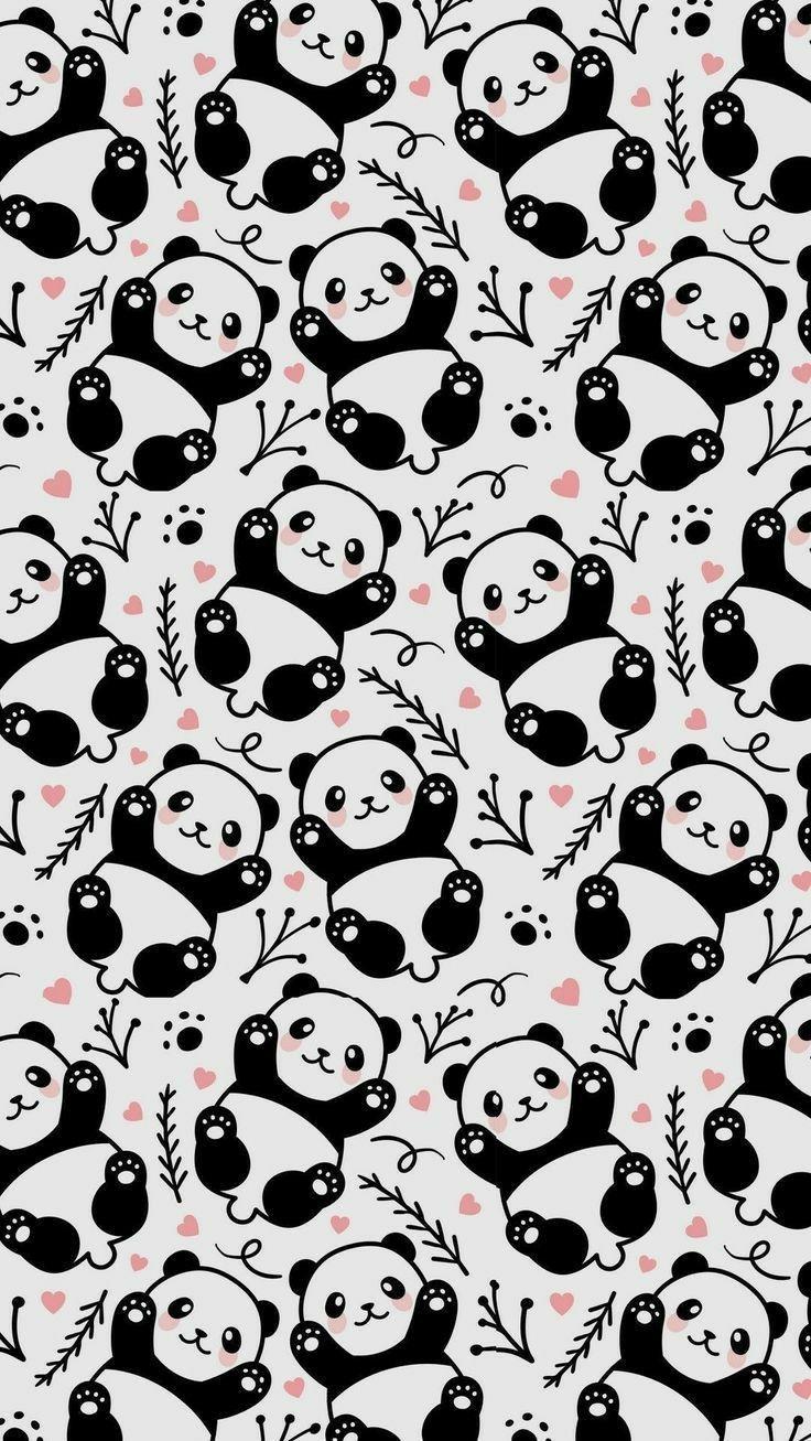 Pin By Sharmaniza On Art Panda Wallpaper Iphone Cute Panda Wallpaper Panda Wallpapers