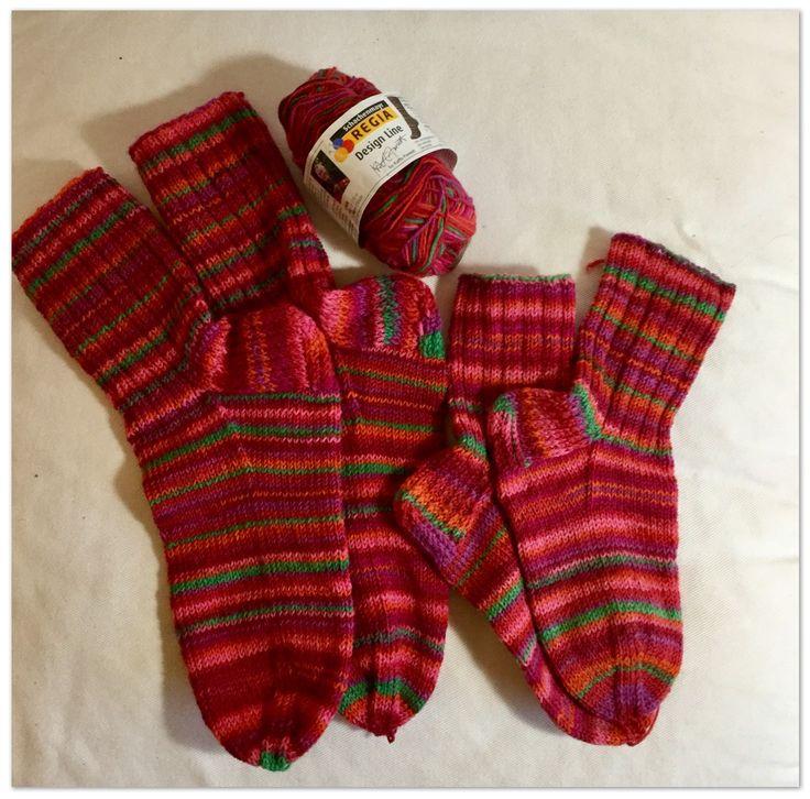 Perus-sukat äidille ja tyttärelle ❤️