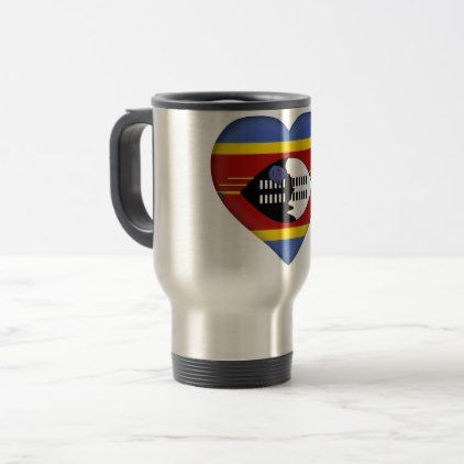 #Swaziland Flag Travel Mug - #country gifts style diy gift ideas