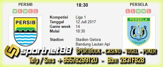 Prediksi Skor Bola Persib vs Persela 12 Jul 2017 Liga 1 di Stadion Gelora Bandung Lautan Api (Bandung) pada hari Rabu jam 18:30
