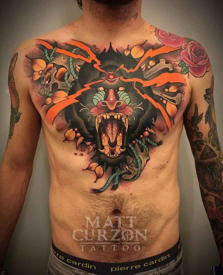 1363 Best Chest Tattoos Images On Pinterest