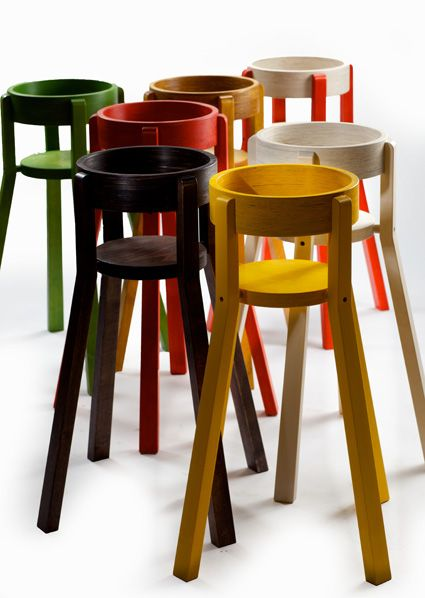 it's a stool for children, but it'd make a great plant pot holder too