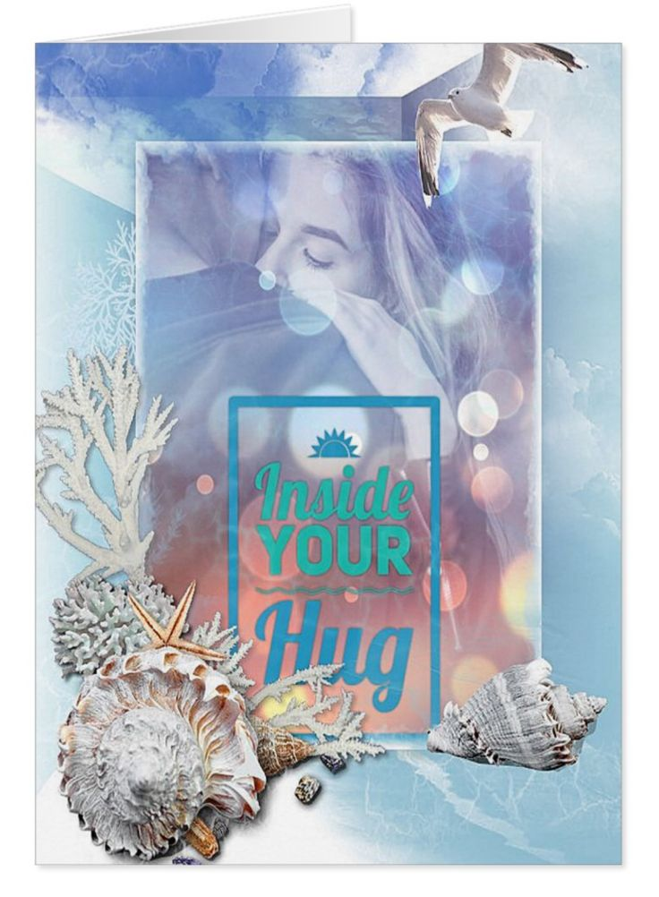 This gift card is loaded with feeling and appreciation. There is something about the beauty and reliability of the sea that reminds me of love. That's the thinking behind the birds and shells. This card creates a lovely mood, what are you going to write inside the card?