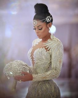 Keyshia Ka'Oir - Wedding Dress Ring The Mane Event Keyshia Ka'Oir and Gucci Mane are officially married. Keyshia's beaded wedding dress was a work of art. All the stars were at #TheWopsters wedding. The wedding was $1.7 million. She explained that she didn't want a typical bridal gown she wanted something more unique. Keyshia wanted to feel royal and she got exactly what she asked for. Keyshia Hired Wedding Planner Kathy Romero On the first episode of The Mane Eventwe meet wedding planner…