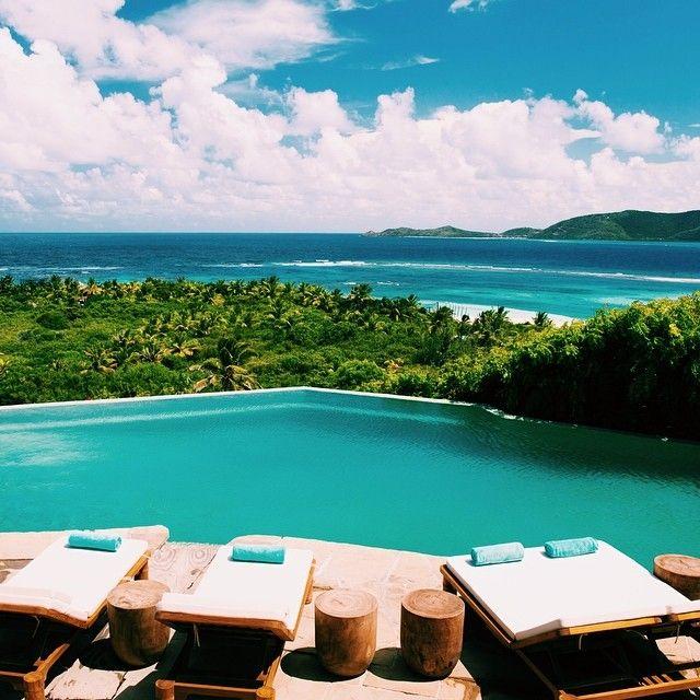Necker Island, in the British Virgin Islands. Photo courtesy of canvastravelco