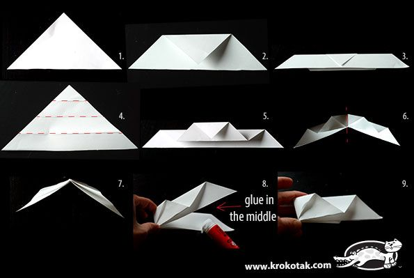 Paper Snowflake Decorations