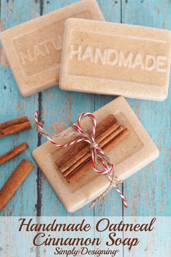 Oatmeal Cinnamon Soap