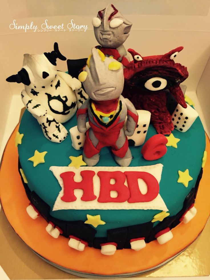 Ultraman Cake Bakery Pinterest Cakes