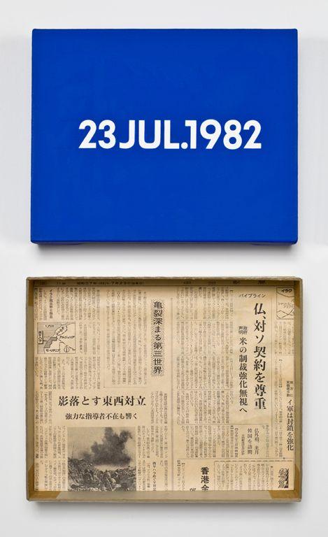 On Kawara – 23 JUL. 1982