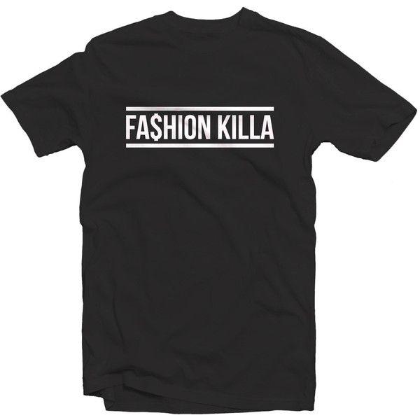 FASHION KILLA T SHIRT 1325 - Asap Rocky Rihanna Kanye West Yeezus... ($20) ❤ liked on Polyvore featuring men's fashion, men's clothing, men's shirts, men's t-shirts, tops, shirts, t shirts and tees