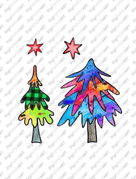 Watercolor Christmas Tree Png Christmas Clipart Hand Drawn Etsy Watercolor Christmas Tree Christmas Watercolor Christmas Tree Clipart