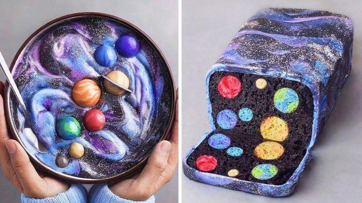 Befriedigende GALAXY Cakes Compilation | Leckere Kuchenrezepte | CAKE Dekorierlehrer … – Kuchen Deko Ideen