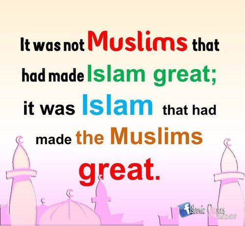 Hit that 'LIKE' button if Islam has made you a better person.