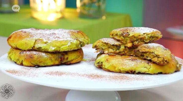 Recept 27 Choumicha - Rghaïf of kruidenbrood met gebakken ui en kip