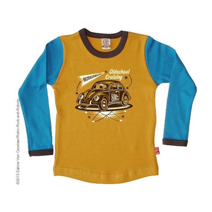 T-shirt BEETLE Retro-Rock-and-Robots nu te bestellen bij http://www.favouritethings.nl/kinderkleding/t-shirt-beetle-1437.html