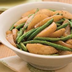 Sautéed Green Beans And Pears (via foodily.com)