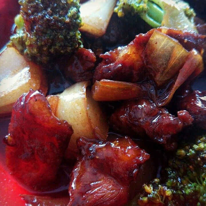Black pepper beef  by waroeng_wadjan