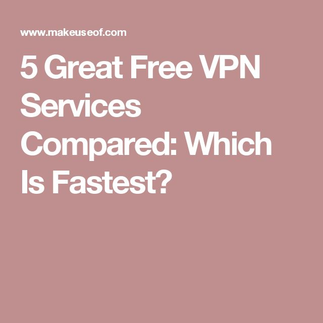 5 Great Free VPN Services Compared: Which Is Fastest? http://tc.tradetracker.net/?c=16274&m=1092491&a=277324&r=&u=