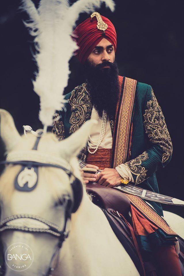 Photo of the bridegroom.